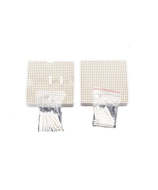 Lab firing tray with posts (10 pcs.)