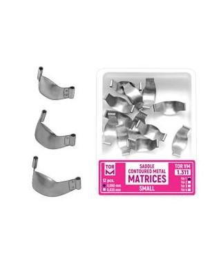 Метални матрици със странични улеи / секторни -12 бр/оп