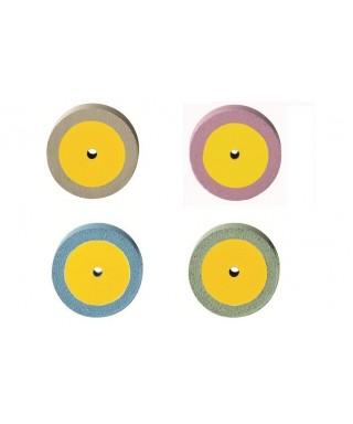 """Полирна гума, диамантена за керамика """"DIAPOL"""" - диск (17 х 2,5)мм"""
