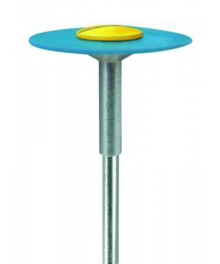 "Полирна гума, диамантена за керамика ""DIAPOL"" - груба, синя леща (20 х 1)мм"
