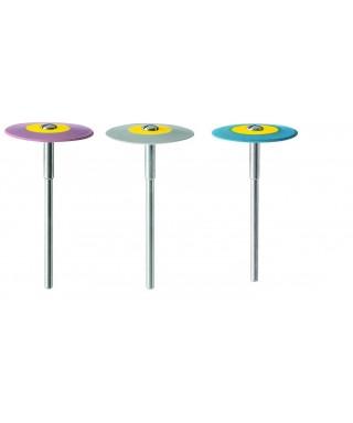 "Полирна гума, диамантена за керамика ""DIAPOL"" - монтирана леща (26 х 2)мм"