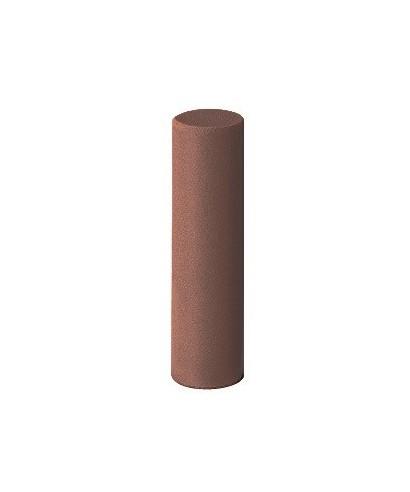 """Полирна гума """"EVEFLEX"""" - средно груб, св. кафяв цилиндър (6х22)мм"""