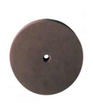 "Полирна гума ""ECOCHROM"" - груб, кафяв диск (22х3)мм"