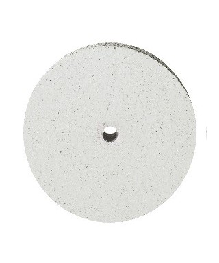 "Полирна гума ""UNIVERSAL"" - бял груб диск (22х3)мм"