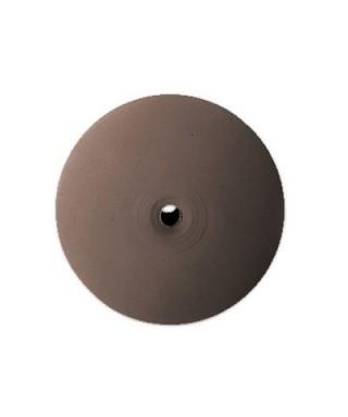 "Полирна гума за сплави ""ECOCHROM"" - груба, кафява леща (22 х 4)мм"