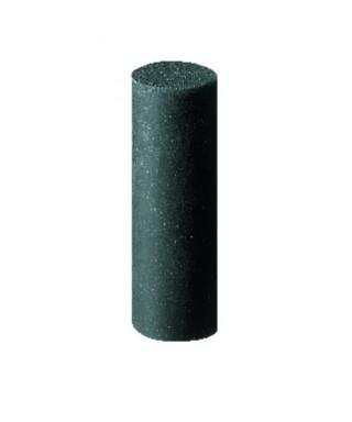 """Полирна гума за благородни метали """"Universal black"""" - средно груб, черен цилиндър (ø7 х 20)мм"""