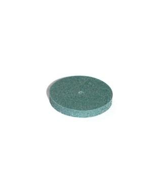 """Полирна гума за пластмаса """"ABRISOFT"""" - груб, зелен диск (22х3)мм"""