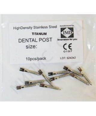 Коренови щифтове, титанови - 10 бр/оп.