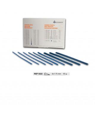 Профилен восък тип пресечена капка (4,0 х 1,75)мм - 65 гр/оп.