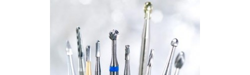 Carbide and steel burs